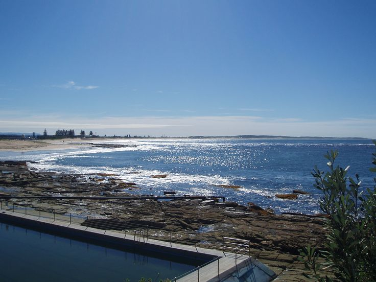 Ocean Baths overlooking The Entrance Beach. #theentrance #beach #swimming #seeaustralia