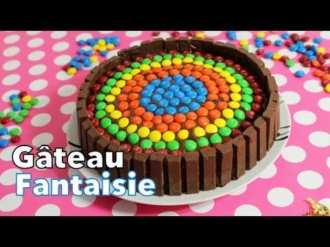Recette : Gâteau KitKat & MM'S : Facile & Coloré - YouTube