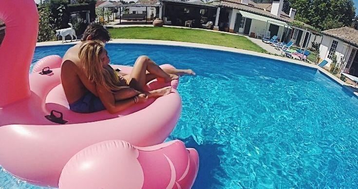 @kikaat #relationshipGoals #couple #goals #summer #flamingo