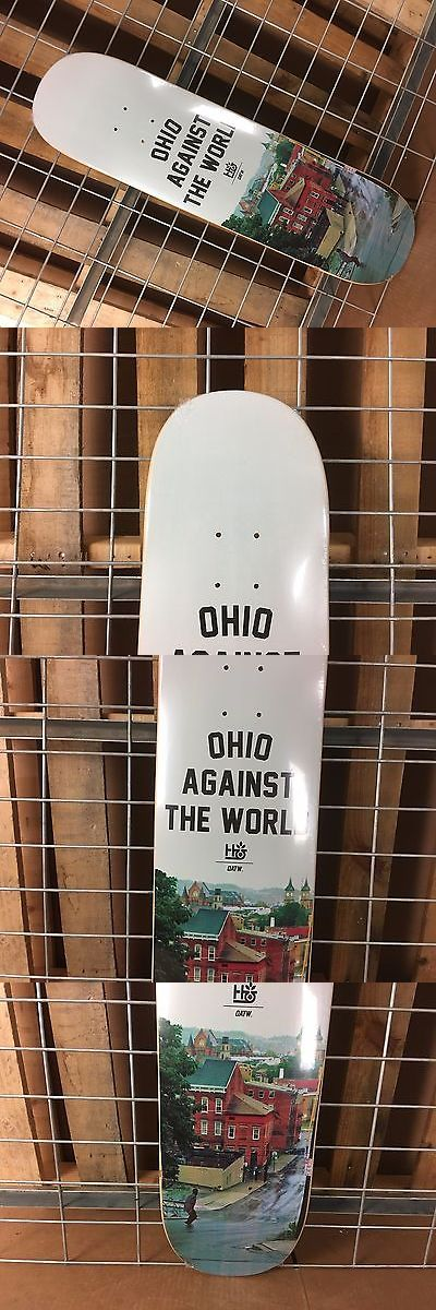Decks 16263: New Habitat O.A.T.W. White Skateboard Deck - 8.125In -> BUY IT NOW ONLY: $49.95 on eBay!