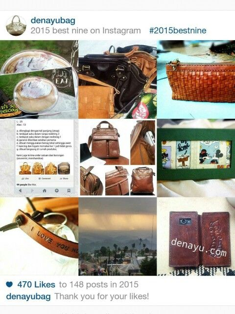 Best product tas, dompet, custom souvenir. Thank you 2015  (yuk kita catet2 resolusi utk th 2016) semangattt