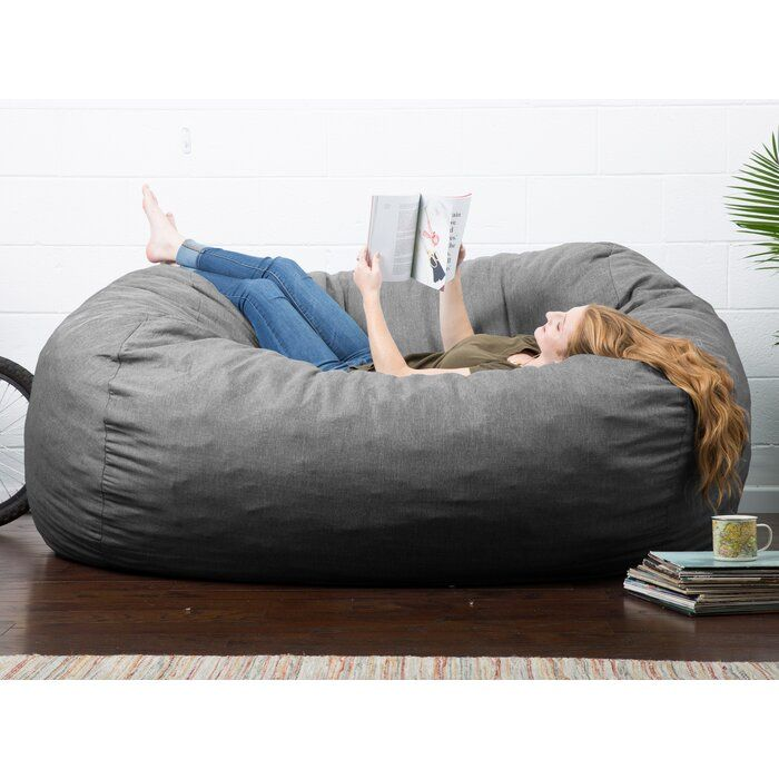 Joe Lux Extra Large Bean Bag Sofa