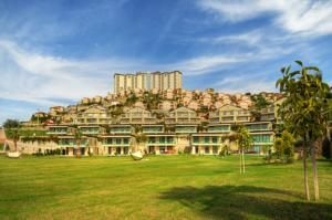 #Antalya - #AntalyaHotels - #Alanya - Goldcity Tourism Complex - http://www.antalyahotels724.com/alanya/goldcity-tourism-complex - Hotel Information: Address: Kargicak - Alanya, 07435 Kargıcak, Alanya Occupying a hilltop overlooking the Mediterranean shoreline, this in depth luxurious resort provides quite a lot of lodging with balconies providing far-reaching views. It has indoor and outside swimming pools and an award-profitable spa. The r