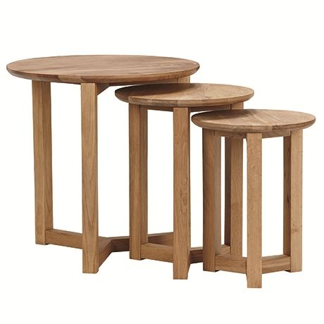 Stockholm Nest of 3 Tables