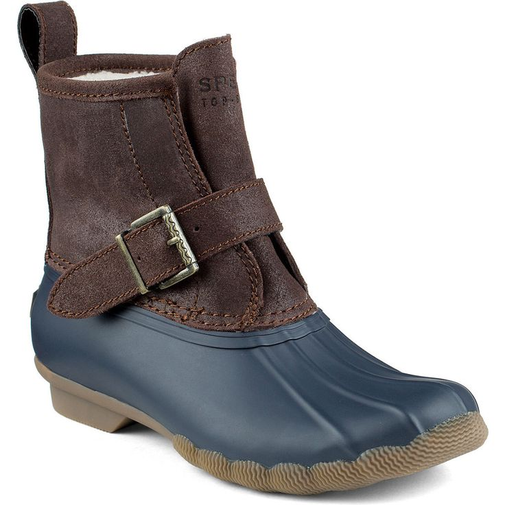 Women's RIP Water Duck Boot in Brown/Navy by Sperry Top-Sider #10