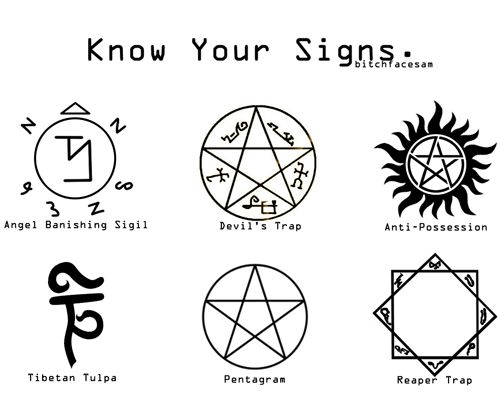 Supernatural know your signs