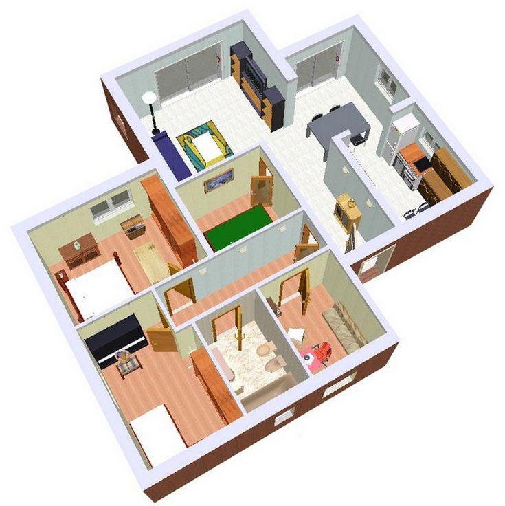 #Casas #Contemporaneo #Baño #Dormitorio #Comedor #Sala de juegos #Sala de estar #Dibujos
