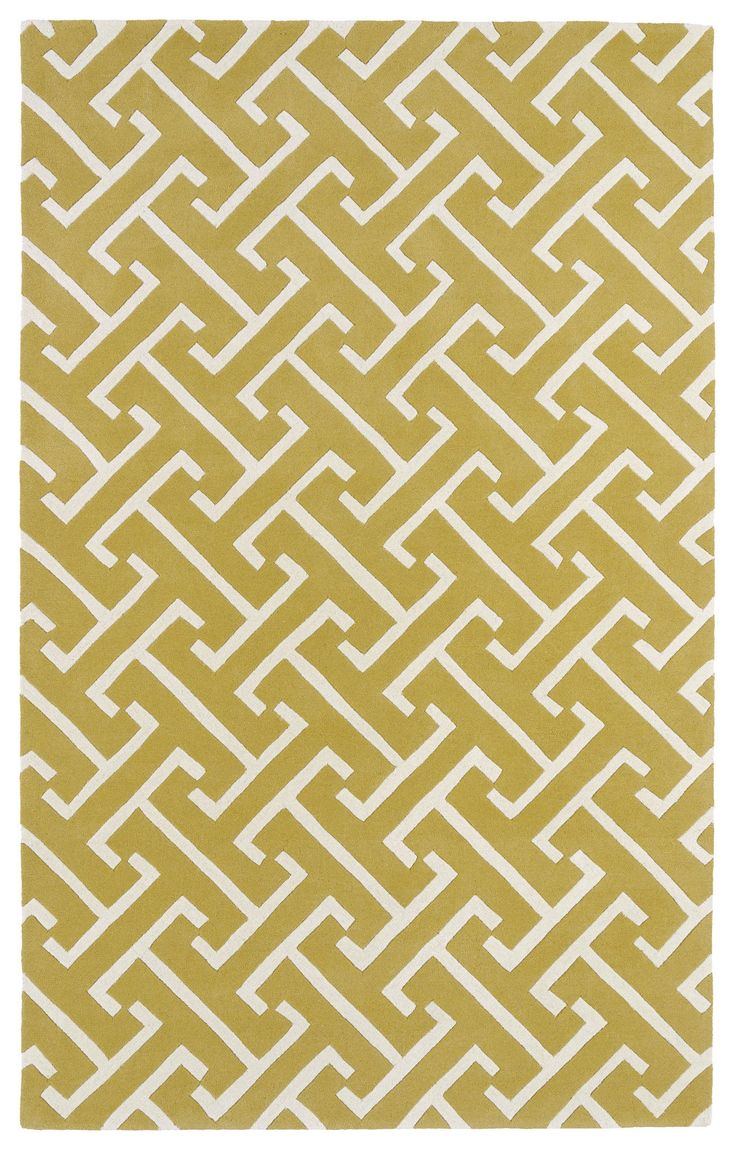 Revolution REV04-28 Yellow/Ivory Modern Rug  #diy #rugs #floorcoverings #homeaccents #carpet #classy #homeideas #trendy #myhome #interiorstyling