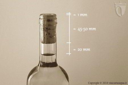 Corretto inserimento del tappo di sughero nella bottiglia di vinohttp://www.vinicartasegna.it/tappare-le-bottiglie-con-i-tappi-di-sughero-per-vino/