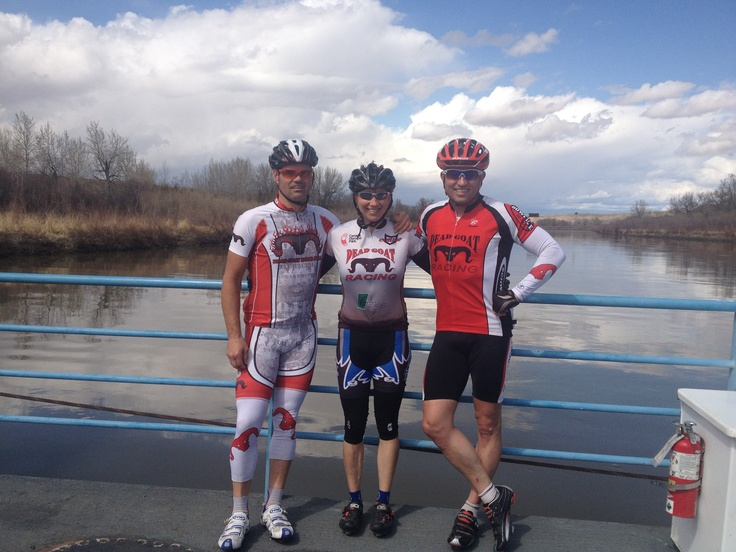 Pat and Trish are two of the most motivating cycling friends I have.  Their dedication to the sport is almost as amazing as their ability to suffer!
