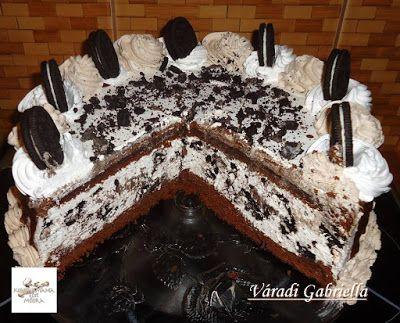 Receptek, és hasznos cikkek oldala: Oreó torta