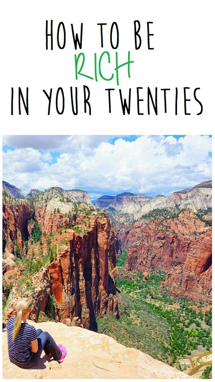 How to be rich in your twenties #frugal #tips