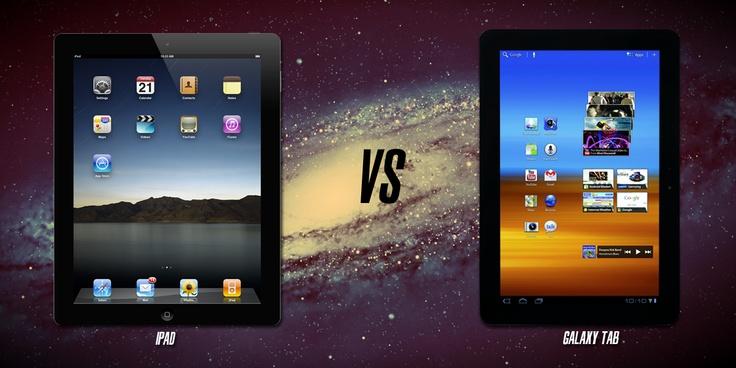 iPad vs Galaxy Tab... ¿Cuál es la mejor tablet?