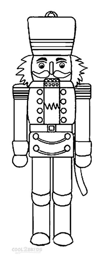 Printable Nutcracker Coloring Pages