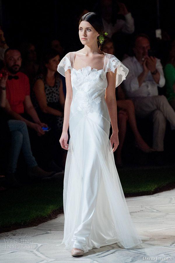 david fielden 2015 bridal 8343 wedding dress illusion sleeves