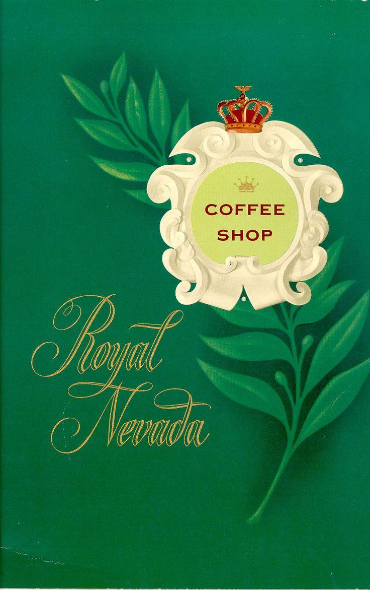 Coffee shop menu at the royal nevada hotel las vegas