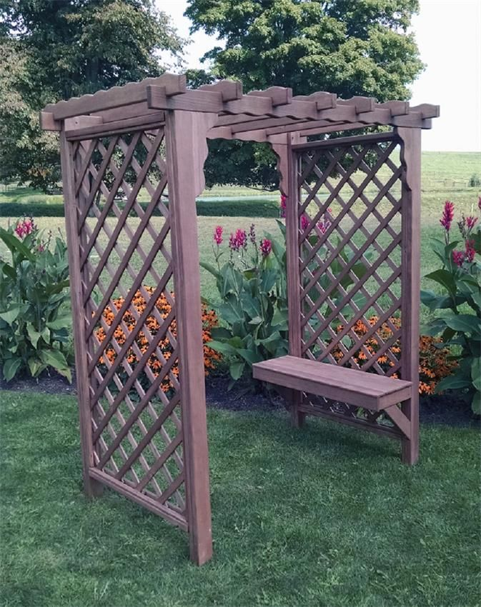 17 Best Images About Amish Garden Arbors Trellises On Pinterest Vinyls Arbors And Deck Benches