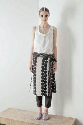 Wraped around skirt | Adelina Ivan Studio