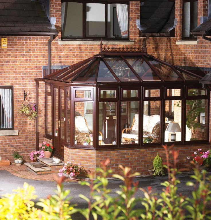 Elegant yet practical, our range of Victorian conservatories add sophistication and character to your home. #Victorian #conservatory #elegance