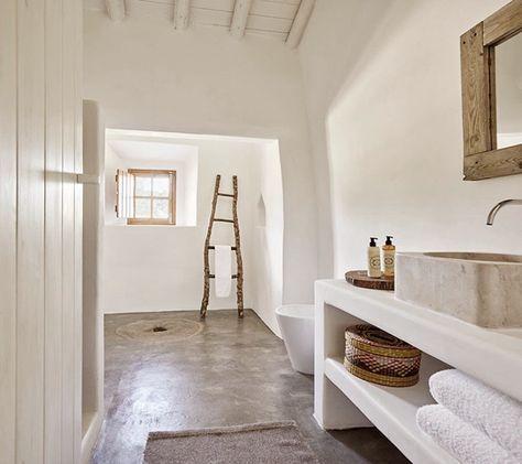 Die besten 25+ Natural mediterranean bathrooms Ideen auf Pinterest - deko für badezimmer