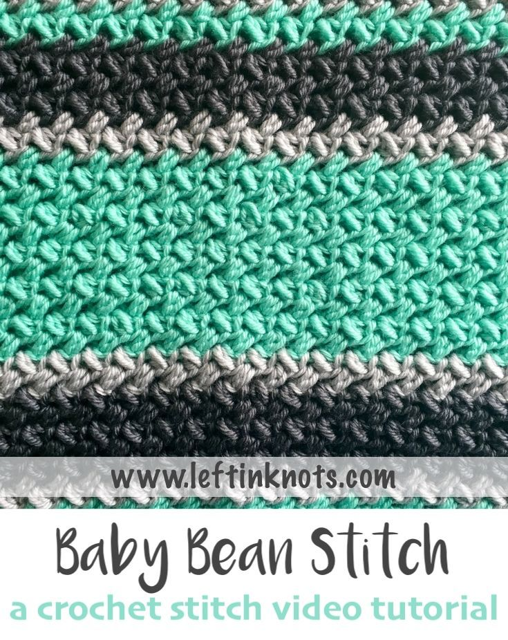 how to read a crochet pattern left handed