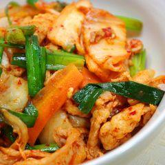 Buta Kimchi Donburi Recipe — Dishmaps