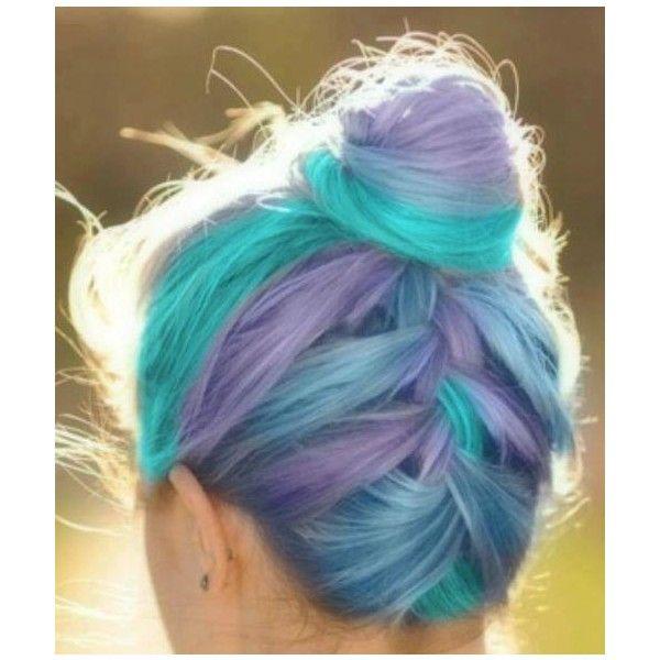 Minitutos, Chicas con pelo de colores..Hair colorful ♥ - Taringa! via Polyvore