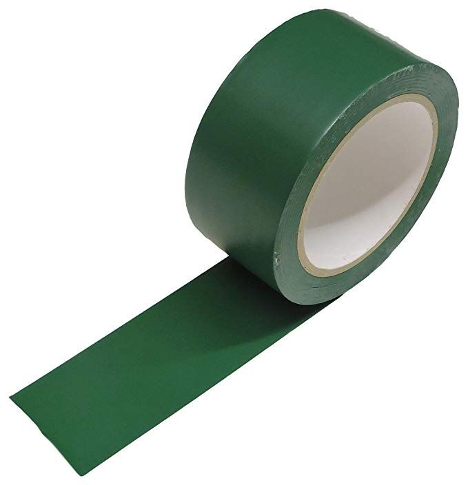 Amazon Com 2 Dark Green Vinyl Floor Tape 7 Mil Rubber Adhesive Sealing Warning Osha Caution Marking Safety Electric Vinyl Flooring Rubber Adhesive Floor Tape