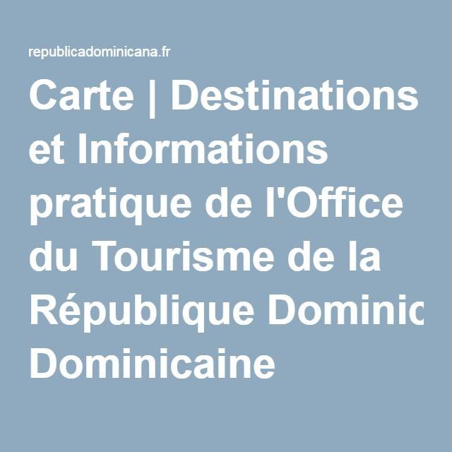 12 best travel images on pinterest design web website - Office de tourisme republique dominicaine ...