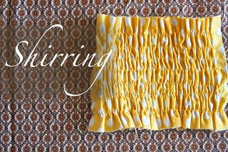 Beginner sewing tips!