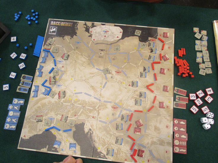 Race to Berlin and its frontlines