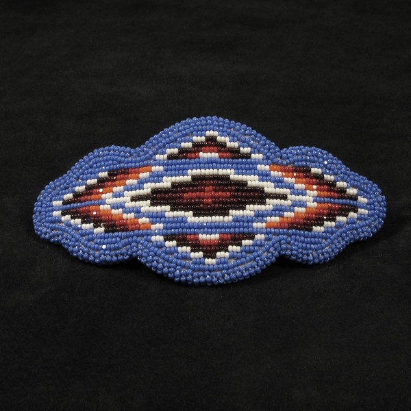 Shoshone Bannock beaded barrette