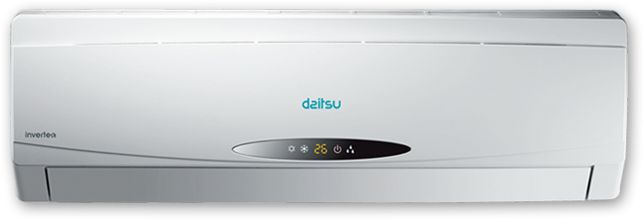 Climatiza tu casa también en invierno con aire acondicionado con bomba de calor Daitsu con tecnología inverter. Los equipos de Daitsu consumen únicamente la energía que necesitan para alcanzar la temperatura seleccionada y la mantienen constante, consiguiendo un menor gasto, mayor confort, eliminación de ruidos y prolongando la vida de tu aparato de aire acondicionado. http://www.sanchezpla.es/calefaccion-con-aire-acondicionado-con-bomba-de-calor/