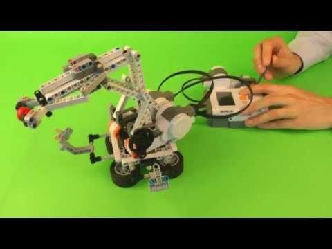 Manipulator - LEGO Mindstorms NXT - YouTube