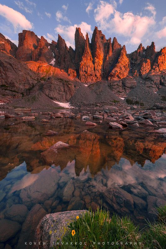 ~~The Crown ~ Sky Pond, alpine lake, accessible from Glacier Gorge Trail, Rocky Mountain National Park, Colorado by Koveh Tavakkol~~