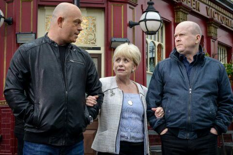 Eastenders new unseen up to date photo shot s i carnt say what s going to happen when grant mitchell come s back in Eastenders secret script lines can not be spoken its all about guessing what s next