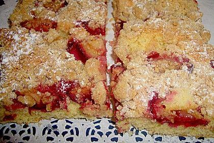 Pflaumenkuchen mit Streuseln (Rezept mit Bild) von Torte80   Chefkoch.de