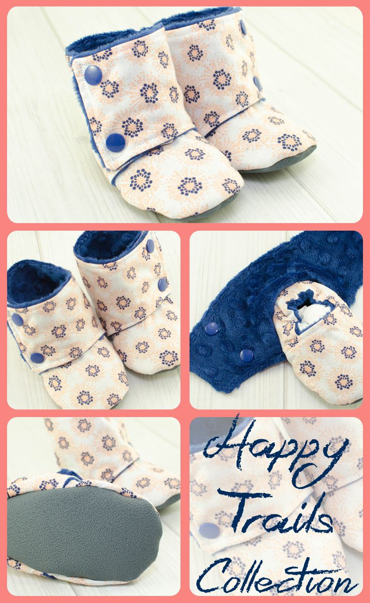 So sweet, love these baby boy booties.  Baby boy clothes
