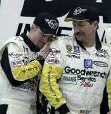 Dale Earnhardt Sr and Jr