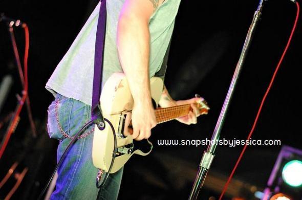 guitar shot - Will Hoge