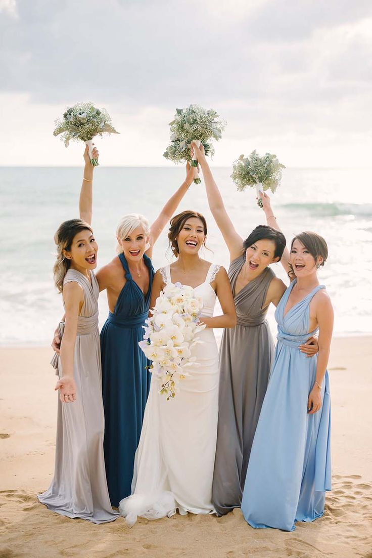 371 best beach wedding ideas images on pinterest beach weddings francois and karis phuket wedding filled with white and blue flowers ombrellifo Gallery