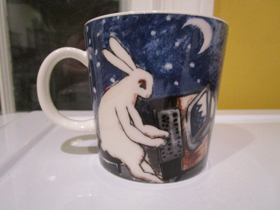 Arabia Finland Heljä Liukko-Sundström Bunny on Computer Day and Night