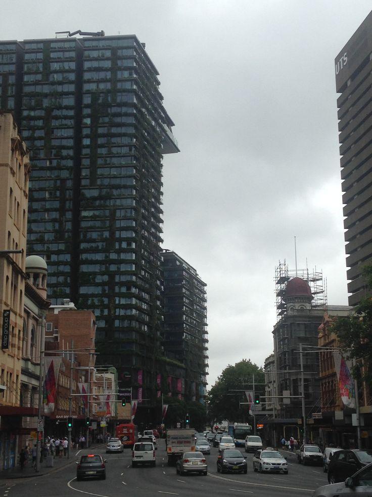 AUS Sydney, Central One Central Park Maior jardim vertical do mundo