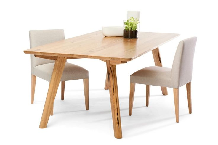 Luka Dining Table, an Australian made Wormy Chestnut table. Have it made in your choice of stain and size. From Urban Rhythm, Melbourne urbanrhythm.com.au