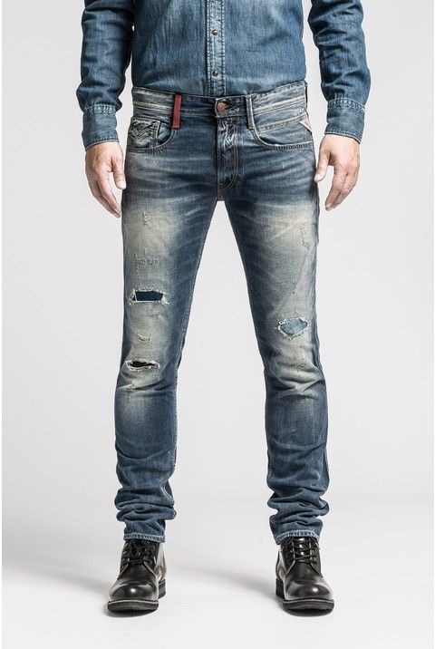 ANBASS 634 436 Slim Fit - Replay   MENS JEANS   Jeans, Replay jeans ... 68b4360bc546