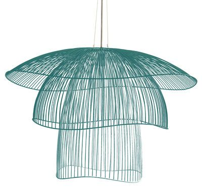 Suspension Papillon Large / Ø 100 cm Bleu gris - Forestier - Décoration et mobilier design avec Made in Design