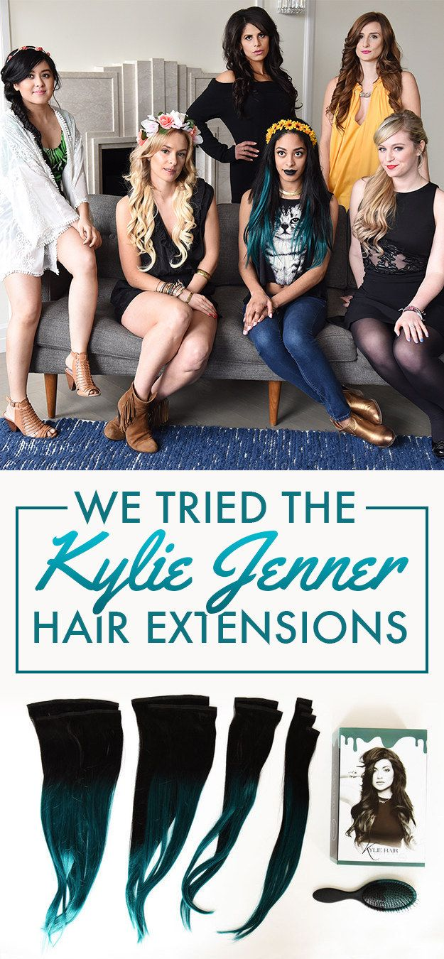 #buzzfeedstyle Naturally, we wanted to try them for ourselves. | We Tried Kylie Jenner's Line Of $250 Hair Extensions