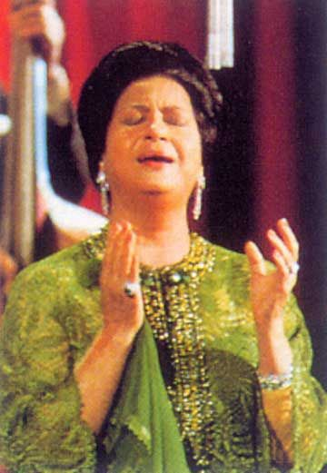 There is music & then there is Om Kalthum.. Oum Khoulsoum umm kolthoum