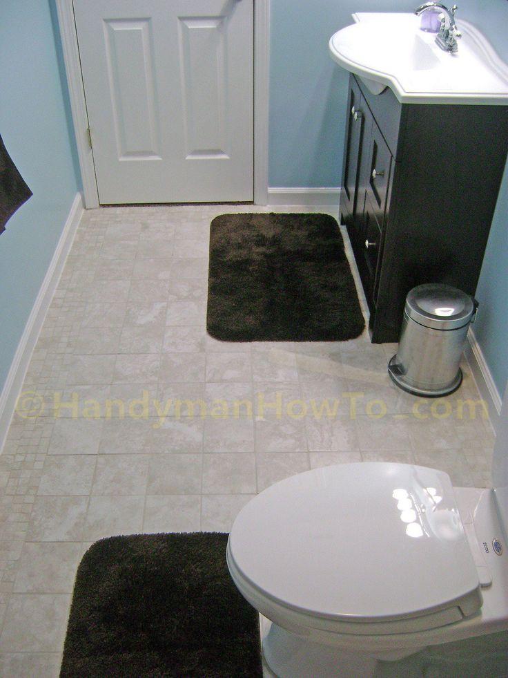 Finished Basement Bathroom - Toilet and Vanity | Basement ...