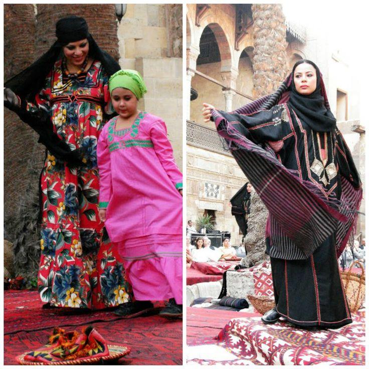 Egyptian women | Folk Costume of North Africa | Pinterest